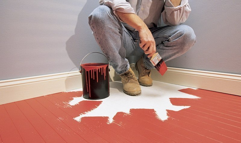 How long does floor paint take to dry