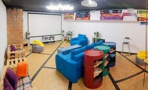 How to make a garage in a comfortable place